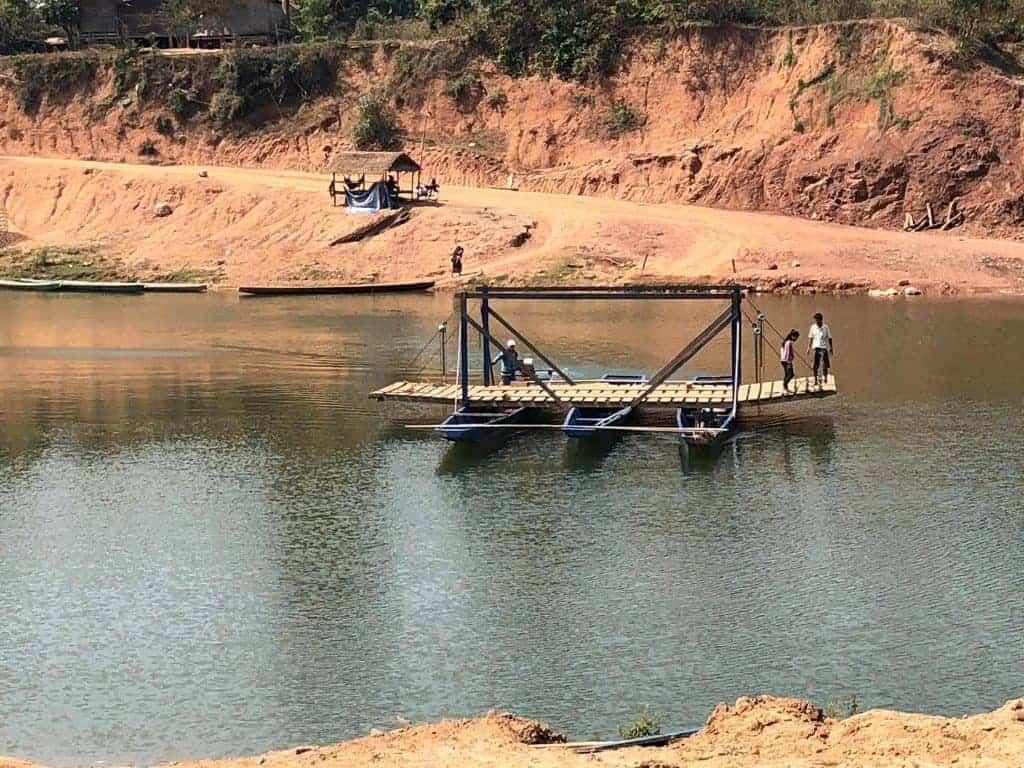 New-ferry-river-crossings-Laos-Ho-Chi-Minh-Trail-2020