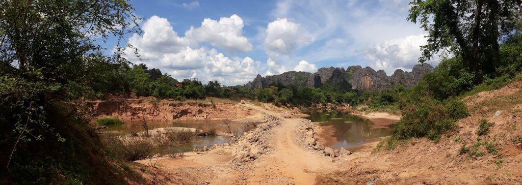 river-crossings-Laos-Ho-Chi-Minh-Trail-dry-season-easy-crossings