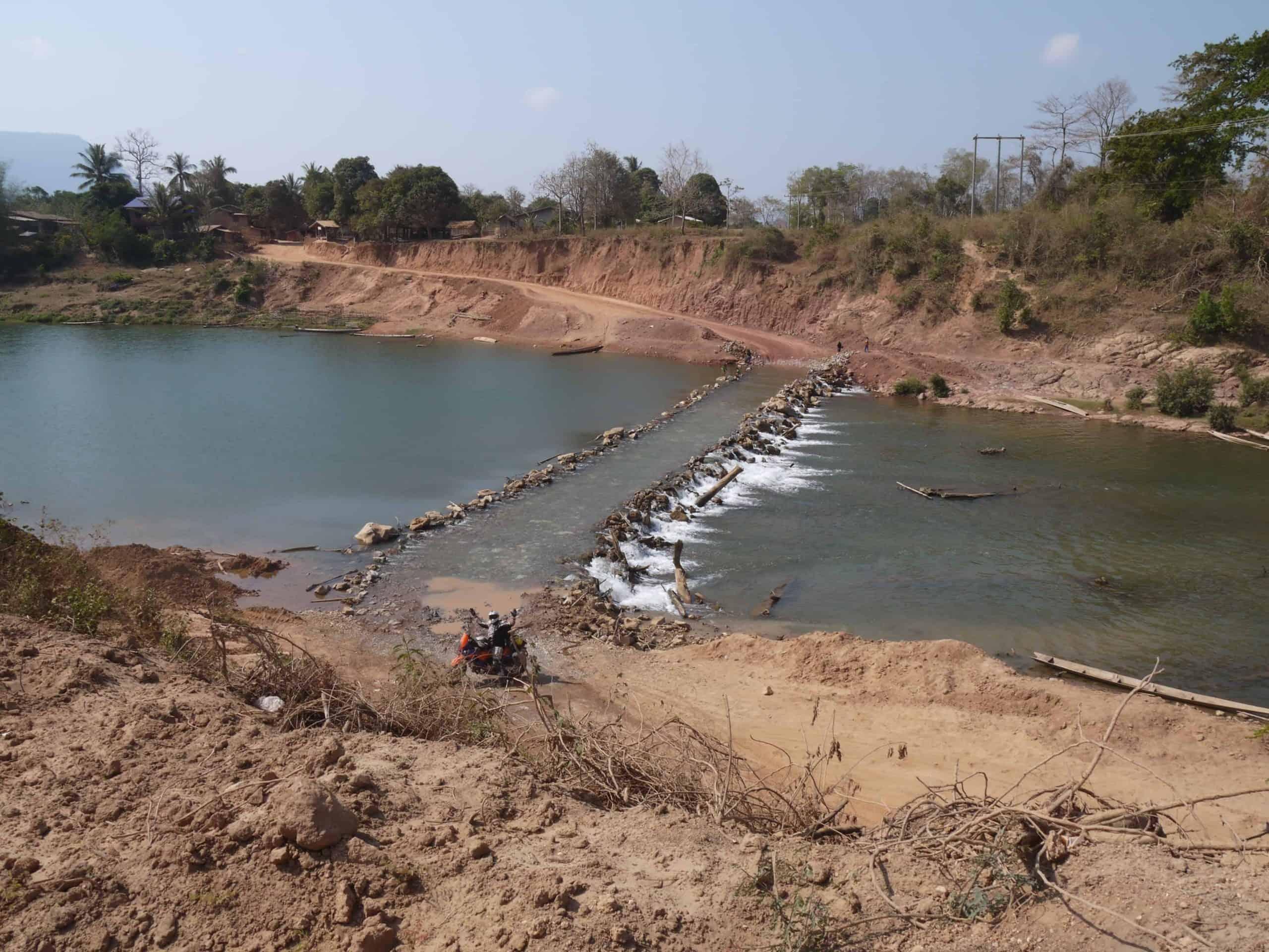 forded-river-crossings-Laos-Ho-Chi-Minh-Trail-wet-season-flooded